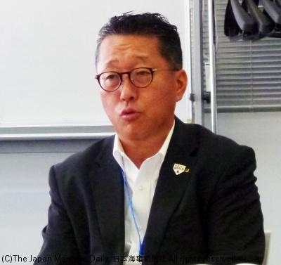 日本通運執行役員海運事業支店長・杉山千尋氏