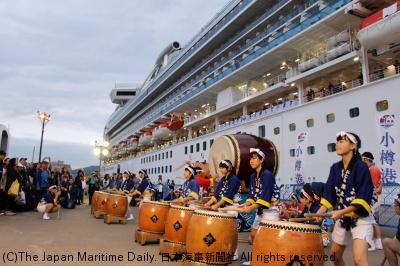 「海のある風景」小樽港寄港5周年