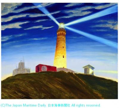 """Mr.Container Visits Tsunoshima Lighthouse""2017"