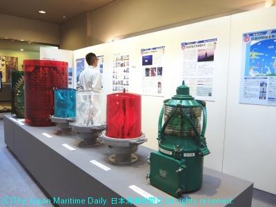 「海を照らす仕事」をテーマに海上保安庁展を開催中