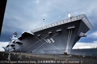 戦闘機が搭載可能となる「いずも」型護衛艦