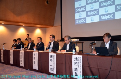 18年5月の第1回コンソーシアム総会前に開かれた関係者による記者会見