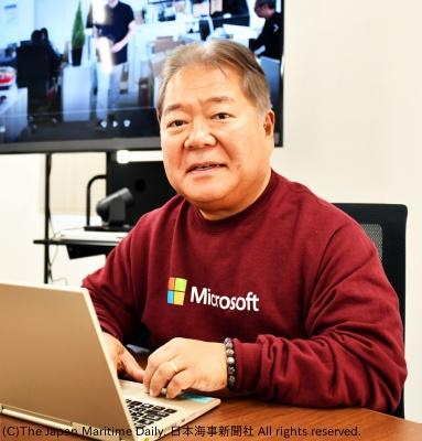 MR技術のメリットを説明する近藤社長