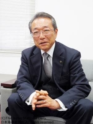 新洋海運社長・稲葉徹志氏