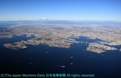 横浜港全景