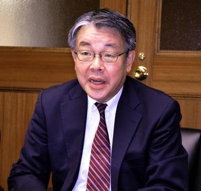 「業務の標準化・システム化が必要」と語る藤倉社長