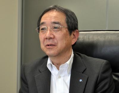 NSユナイテッド海運社長・谷水一雄氏
