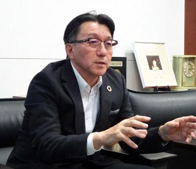 JMU常務執行役員技術本部長・安部昭則氏