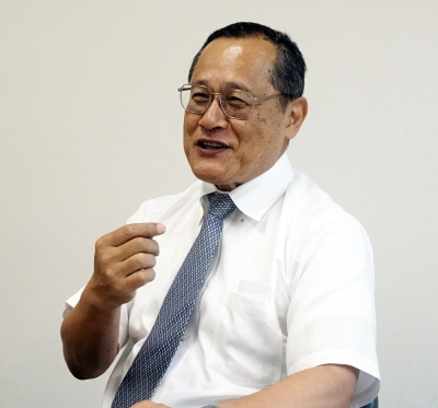 今治造船専務取締役・藤田均氏