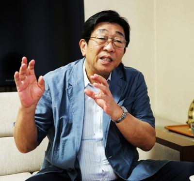 日本水先人会連合会会長・西本哲明氏