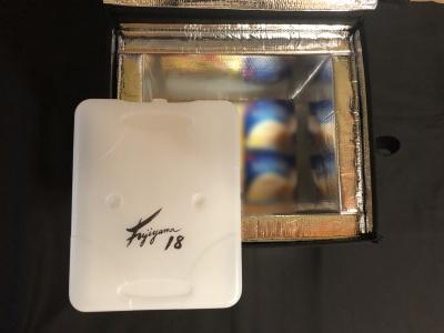 フジヤマ18プロ。専用の保冷ボックスと組み合わせて使う