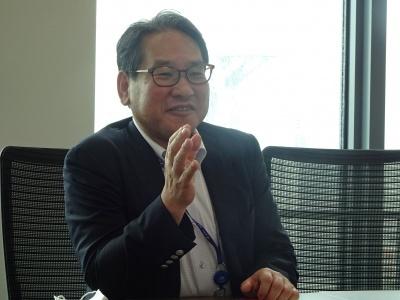 双日マリンアンドエンジニアリング取締役執行役員機器部門長 小西 一司氏