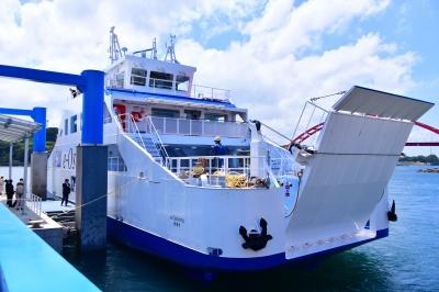 「スーパー・ブリッジX」を搭載している大島造船所の完全バッテリー駆動船「e―Oshima」