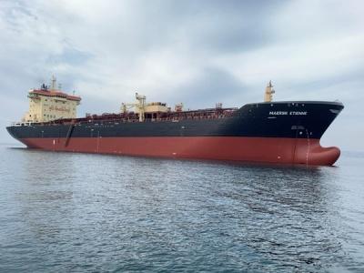 「Maersk Etienne」(写真はマースクタンカースのホームページから)