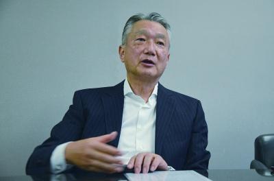 三菱鉱石輸送代表取締役副社長 小笠原和夫氏