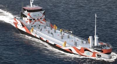 電気推進タンカー(イメージ図)