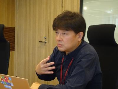 旭タンカー経営企画部長 市川 武義氏