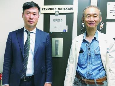 高山CEO(左)と村上健一郎CTO(最高技術責任者)