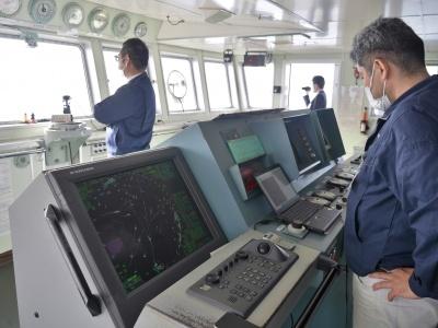 深江丸にAI操船支援システムを接続し大阪湾上で試験