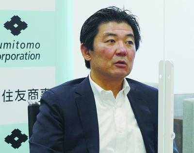 住友商事船舶事業部長 豊田 高徳氏