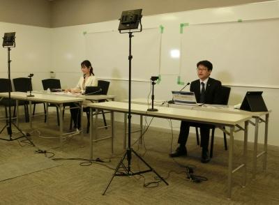 名古屋市内の会場から25社が配信した