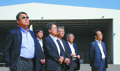 船協、国船協、海員組合の3団体が参加した訪問団(18年11月)