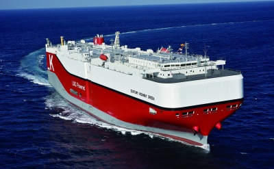 次世代環境対応船「CENTURY HIGHWAY GREEN」は最新のデジタル技術も採用