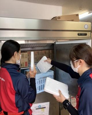 マイナス21度で凍結するので、一般的な冷凍庫で運用できる