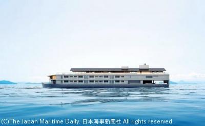9月から就航予定の「guntu(ガンツウ)」の外観 (イメージ)
