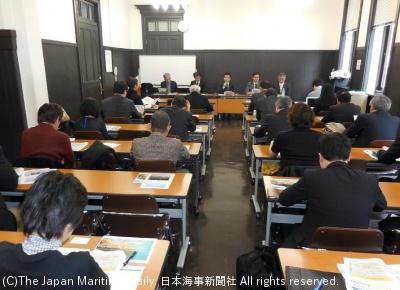 会場の横浜市開港記念会館は開館100周年を迎えた