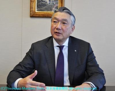 日本郵船常務経営委員・ドライバルク輸送本部長・小笠原和夫氏