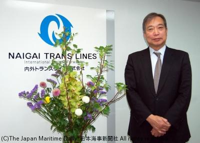 内外トランスライン社長・常多晃氏