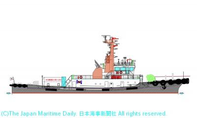 「船舶維新ネクスト」の一環として建造(竣工イメージ)