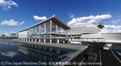 東京五輪までに供用予定の新客船埠頭(イメージ)