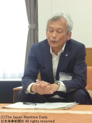 名古屋港管理組合専任副管理者・服部明彦氏
