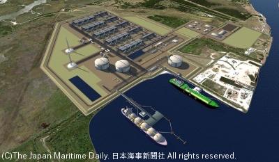 米テルリアン/LNG船、最大50隻調達。ドリフトウッド計画、22年出荷目標(1面)