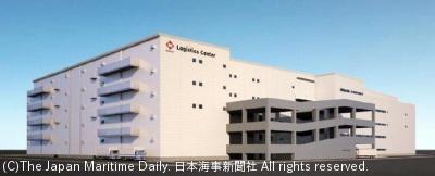 神奈川県大和市に建設する大型物流施設(イメージ)