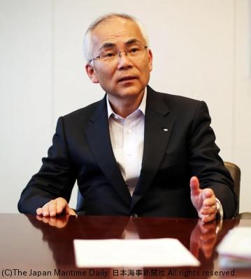 日本郵船社長・内藤忠顕氏