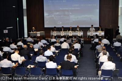 海洋と宇宙の連携を主題にしたパネル討論
