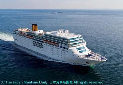 18年のシーズンも日本発着に継続配船される「ネオロマンチカ」
