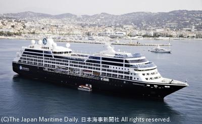 19年の春と秋に日本近海周遊を運航する「アザマラクエスト」
