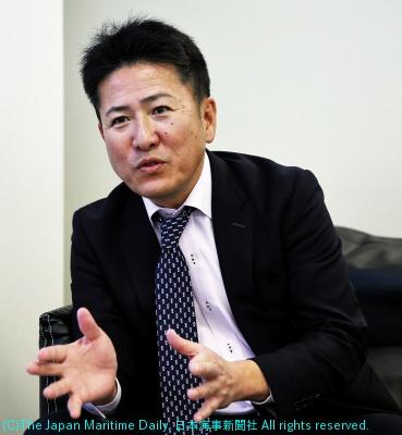 福永海運社長・福永庄一朗氏