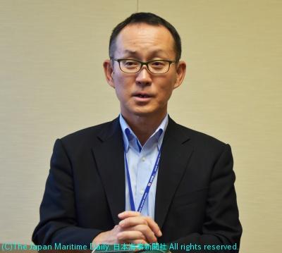 日本郵船経営委員(自動車船第一・第二、自動車物流、自動車輸送品質各グループ担当)・関光太郎氏